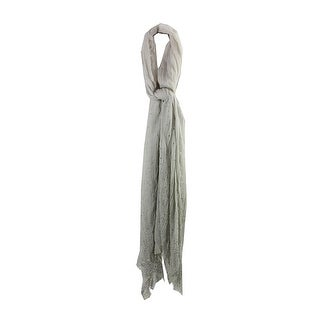 Collection Xiix Almond Green Studded Ombre Wrap OS