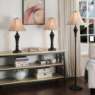 Link to Copper Grove Armlin Classic Bronze Metal Lamps (Set of 3) Similar Items in Table Lamps