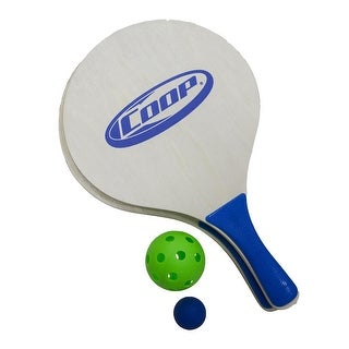 Paddle and Green Pickle Ball Classic Outdoor Yard Game