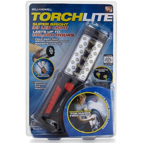 As Seen On TV Bell & Howell Torch Lite, Black & Red