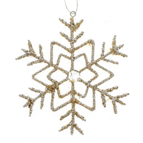 Silver Thread Snowflake