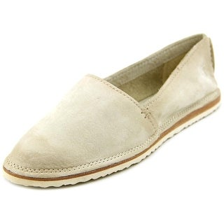 Frye Milly A Line Round Toe Leather Flats