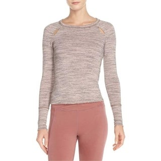 Free People Womens Casual Top Layered Long Sleeves