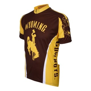 Adrenaline Promotions University of Wyoming Cowboys Cycling Jersey - university of wyoming cowboys