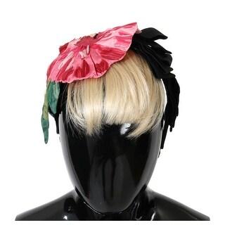 Dolce & Gabbana Floral Roses Hair Sicily Headband - One Size