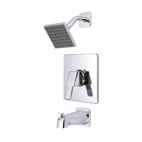 Olympia i3 Single Handle Tub/Shower Trim Set - Polished Chrome
