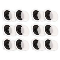 "Theater Solutions CS6C In Ceiling 6.5"" Speakers Home Theater 6 Pair Pack 6CS6C"