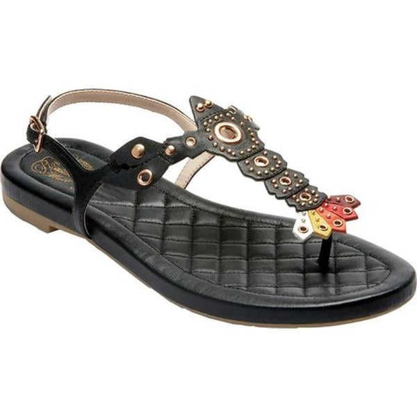 e45eec73426 Shop Cole Haan Women s G.Os Pinch Lobster Thong Sandal Black Plum ...