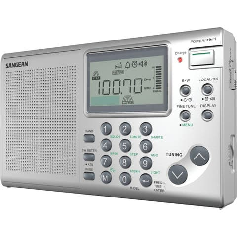 Sangean Fm And Mw And Sw Stereo World Receiver