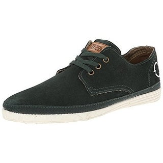 Natural World Mens Blucher Fashion Sneakers Suede Organic Cotton
