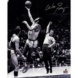 Walt Frazier Jump Shot over Jerry West 16x20 Photo
