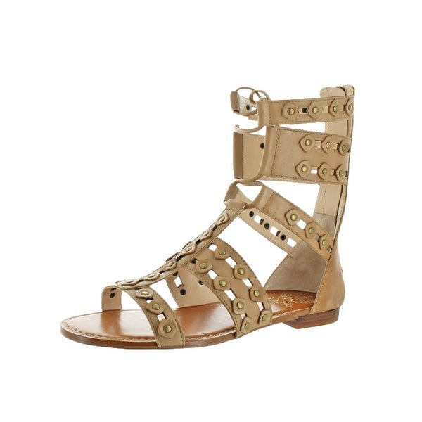 Vince Camuto Womens Malkah Gladiator Sandals Ghillie Cut-Out
