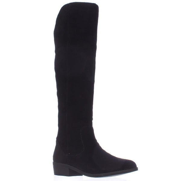 STEVEN by Steve Madden Emmery Tall Western Boots, Black