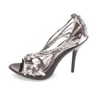Carlos by Carlos Santana Womens Glint Open Toe Special Occasion Ankle Strap S... - 8
