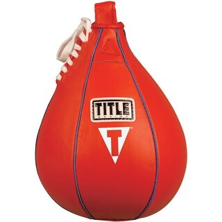 "Title Boxing Leather Speed Bag - Small (6"" x 9"")"