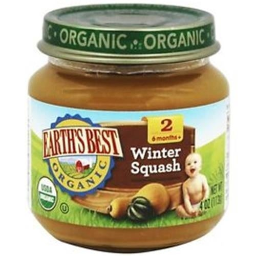 Earth's Best - Organic Winter Squash ( 12 - 4 OZ)