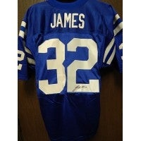 info for 3a496 4069e Signed James Edgerrin Indianapolis Colts Authentic Indianapolis Colts  Jersey Size 48 autographed