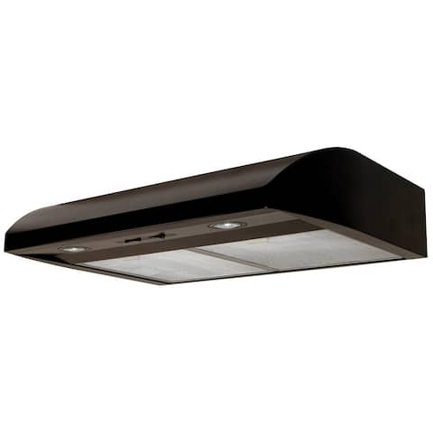 """Air King AB30 250 CFM 30"""" Wide Under Cabinet Range Hood with Dual Halogen Lighting and Aluminum Mesh Filters from the Essence"""