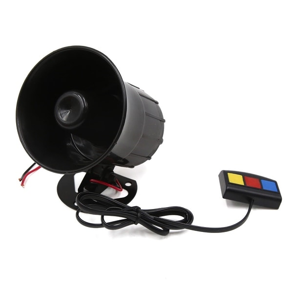 12V 30W 110dB Three Sound Tone Electric Horn Speaker for Motorcycle Car Vehicle