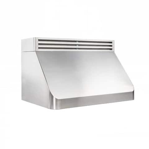 ZLINE Recirculating Under Cabinet Range Hood in Stainless Steel.