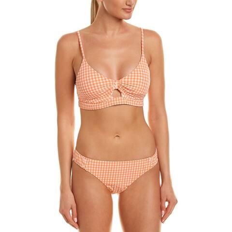 Nanette Lepore Capri Gingham 2Pc Bikini Set