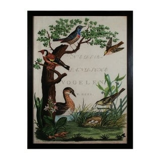 "Sterling Industries 10076-S1 42.5"" Height Duck Sanctuary Wall Art - N/A"