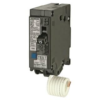 Siemens QA115AFC Arc Fault Circuit Interrupter Breaker, 15 Amp