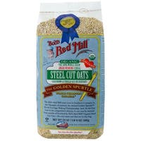 Bob's Red Mill Organic Quick Cooking Steel Cut Oats - 22 oz - Case of 4