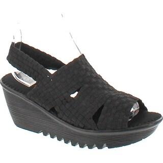 Bernie Mev Women's Level Sandals - Black