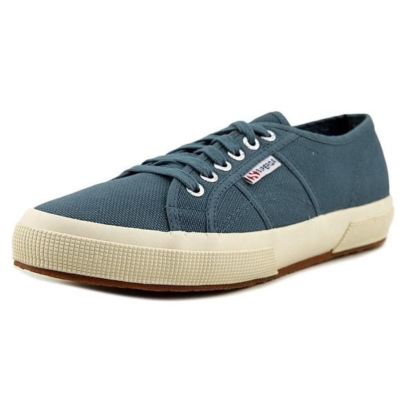Superga 2750 Cotu Classic Women Round Toe Canvas Blue Sneakers