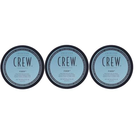 American Crew Fiber 3 Ounce Pack of 3
