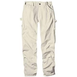 Dickies 2053NT 3432 Mens Double Knee Painter's Pant, 34x32, Natural