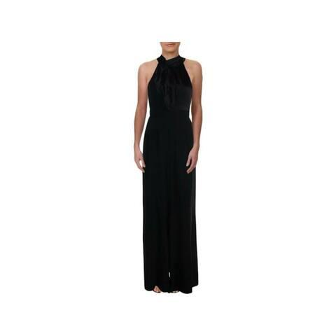 JILL STUART Black Sleeveless Full-Length Dress 0