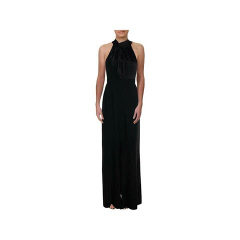JILL STUART Black Sleeveless Full-Length Dress 14