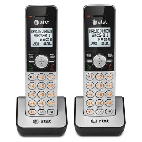 AT&T CL80103 (2 Pack) Handset / Charger W / High Definition Audio Technology