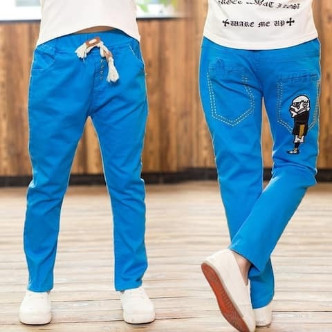 Boy Fall New Male Robot Leisure Trousers Boy Casual Pants
