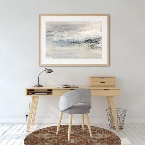 OUSHAK RUST Office Mat By Kavka Designs