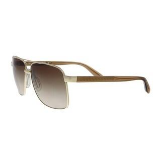 Versace VE2174 125213 Pale Gold Rectangular Sunglasses - no size