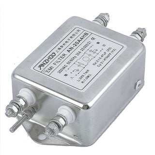 AN-20A4HB AC 250V 20A Single Phase Noise Suppressor Power Line EMI Filter