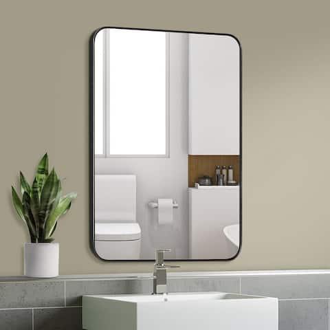 Rathburn Metal Venetian Wall Mounted Mirror