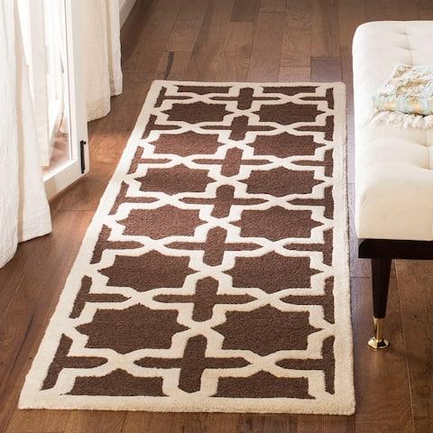 SAFAVIEH Handmade Cambridge Trudie Modern Moroccan Wool Rug