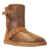 UGG Australia Classic Short Dylyn Winter Boots, Bomber Jacket Chestnut