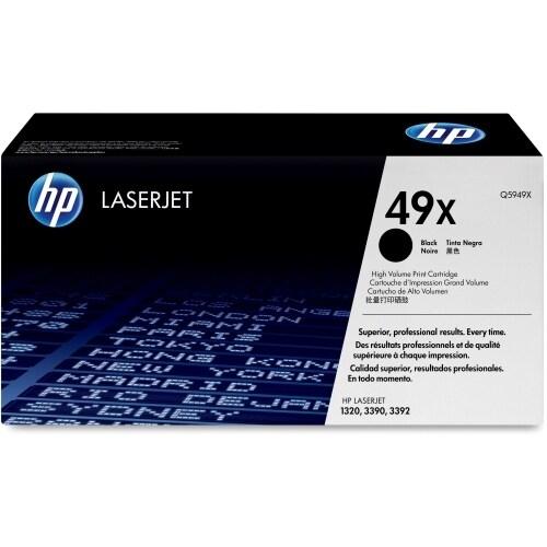 HP 49X 2-pack High Yield Black Original LaserJet Toner Cartridges (Q5949X)(Single Pack)