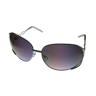 Esprit Womens Sunglass 19239 505 Silver Smoke Square Fashion Metal - Medium