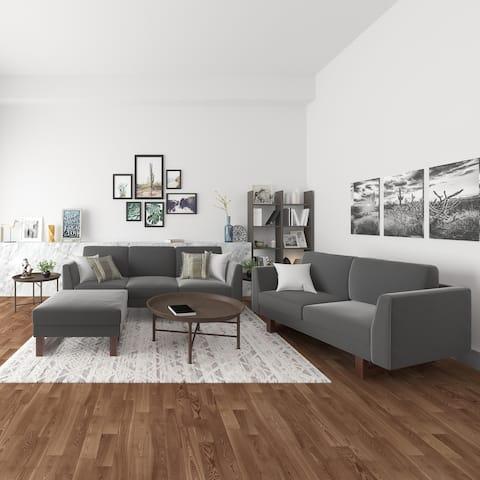 Hayden Sofa, Loveseat and Ottoman living room set