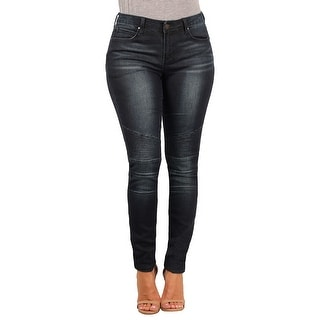 Versace 19.69 Abbigliamento Sportivo SRL Ladies Contemporary Skinny-Stretch Moto Jean (Option: 27)