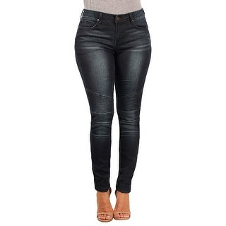 Versace 19.69 Abbigliamento Sportivo SRL Ladies Contemporary Skinny-Stretch Moto Jean (Option: 25)