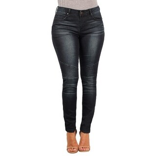 Versace 19.69 Abbigliamento Sportivo SRL Ladies Contemporary Skinny-Stretch Moto Jean (More options available)