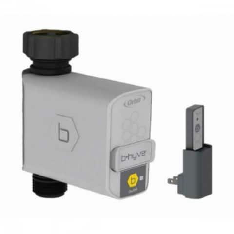 Orbit 21004 B-Hyve Smart Hose Faucet Sprinkler Timer with Wi-Fi Hub