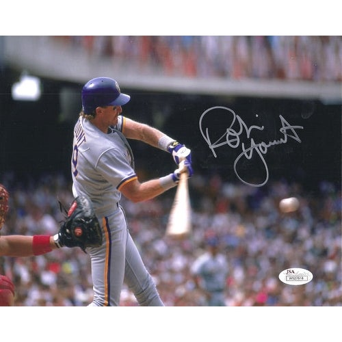93281ace Shop Robin Yount Autographed Milwaukee Brewers 8x10 Photo w/JSA - Free  Shipping Today - Overstock - 12785660